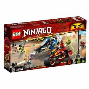 LEGO® NINJAGO® 70667 - Kais Feuer-Bike & Zanes Schneemobil