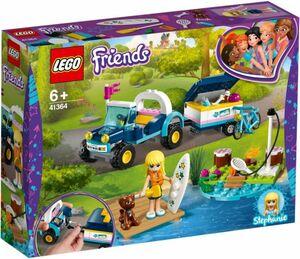 LEGO® Friends 41364 - Stephanies Cabrio mit Anhänger