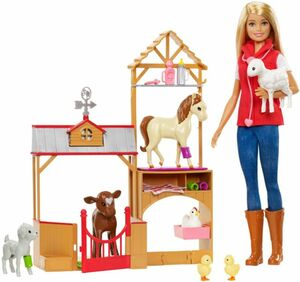 Barbie - Farm Vet Puppe