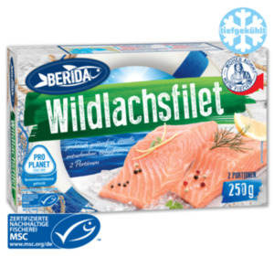 BERIDA Wildlachsfilet