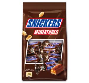 SNICKERS-, MARS-, TWIX oder BOUNTY-Miniatures
