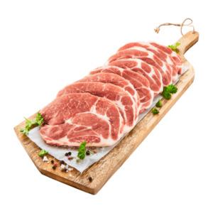 MEINE METZGEREI     Schweine Nackensteaks Natur XXL