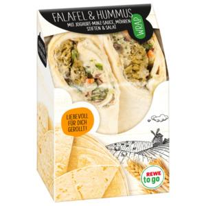 Wrap Falafel Hummus