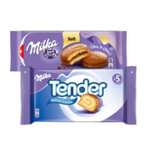 Milka Tender oder Choc