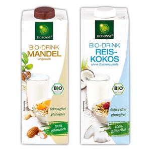 Bio Sonne Bio-Mandel-/ Reis-Kokos-Drink