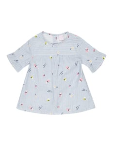 Baby Bluse mit Streifenmuster