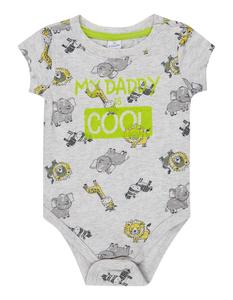 Newborn Body mit Allover-Print
