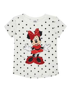 Mädchen T-Shirt mit Minnie Mouse-Motiv