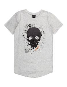 Jungen T-Shirt mit Totenkopf-Motiv