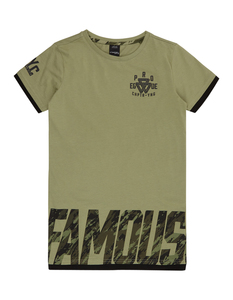 Jungen T-Shirt im Double-Layer-Look