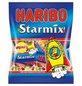 HARIBO             Starmix Mini Fruchtgummi, 250g                 (3 Stück)