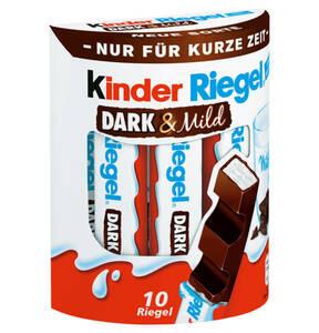 """FERRERO             Kinder Riegel """"Dark & Mild"""" 10er, 210g"""