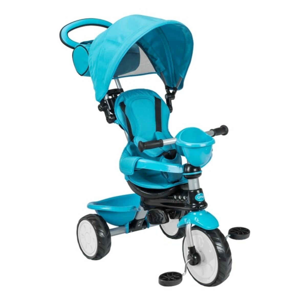 Bild 2 von QPlay - Dreirad Comfort 3in1, blau