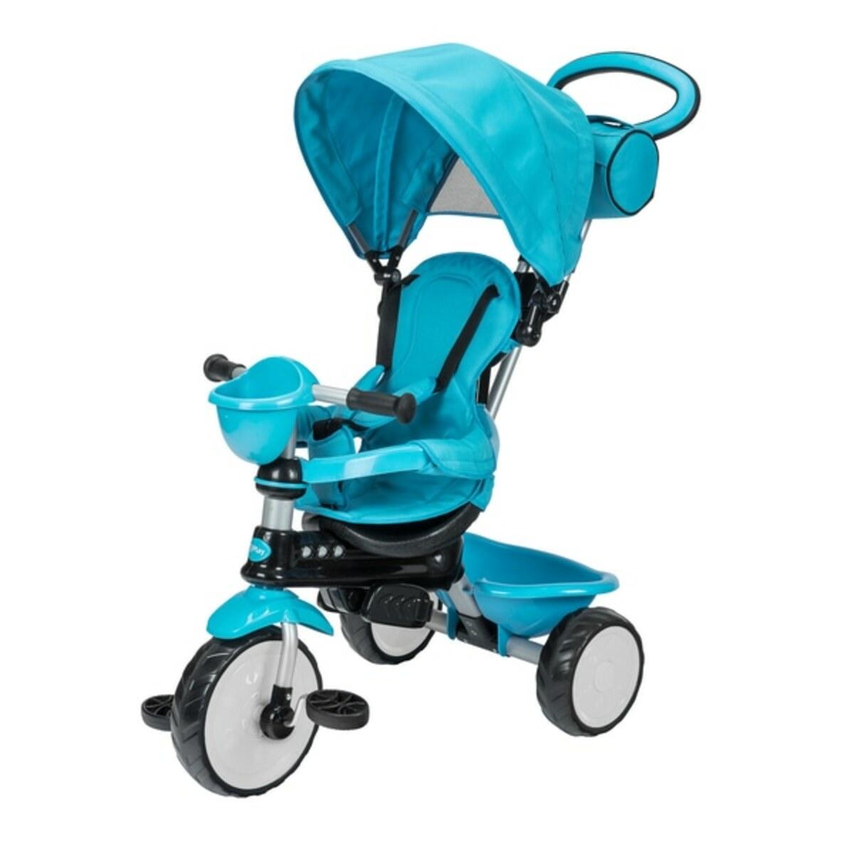 Bild 3 von QPlay - Dreirad Comfort 3in1, blau