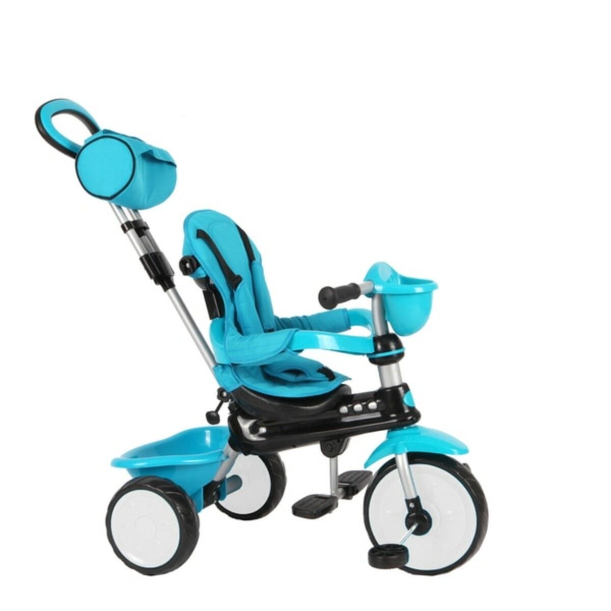 Bild 4 von QPlay - Dreirad Comfort 3in1, blau
