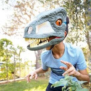 Jurassic World - Fallen Kingdom Velociraptor Blue Maske mit Geräuschen (FMB74)