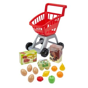 Ecoiffier - Einkaufswagen mit Obst