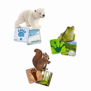Schleich 42474 Lernkarten Wildlife
