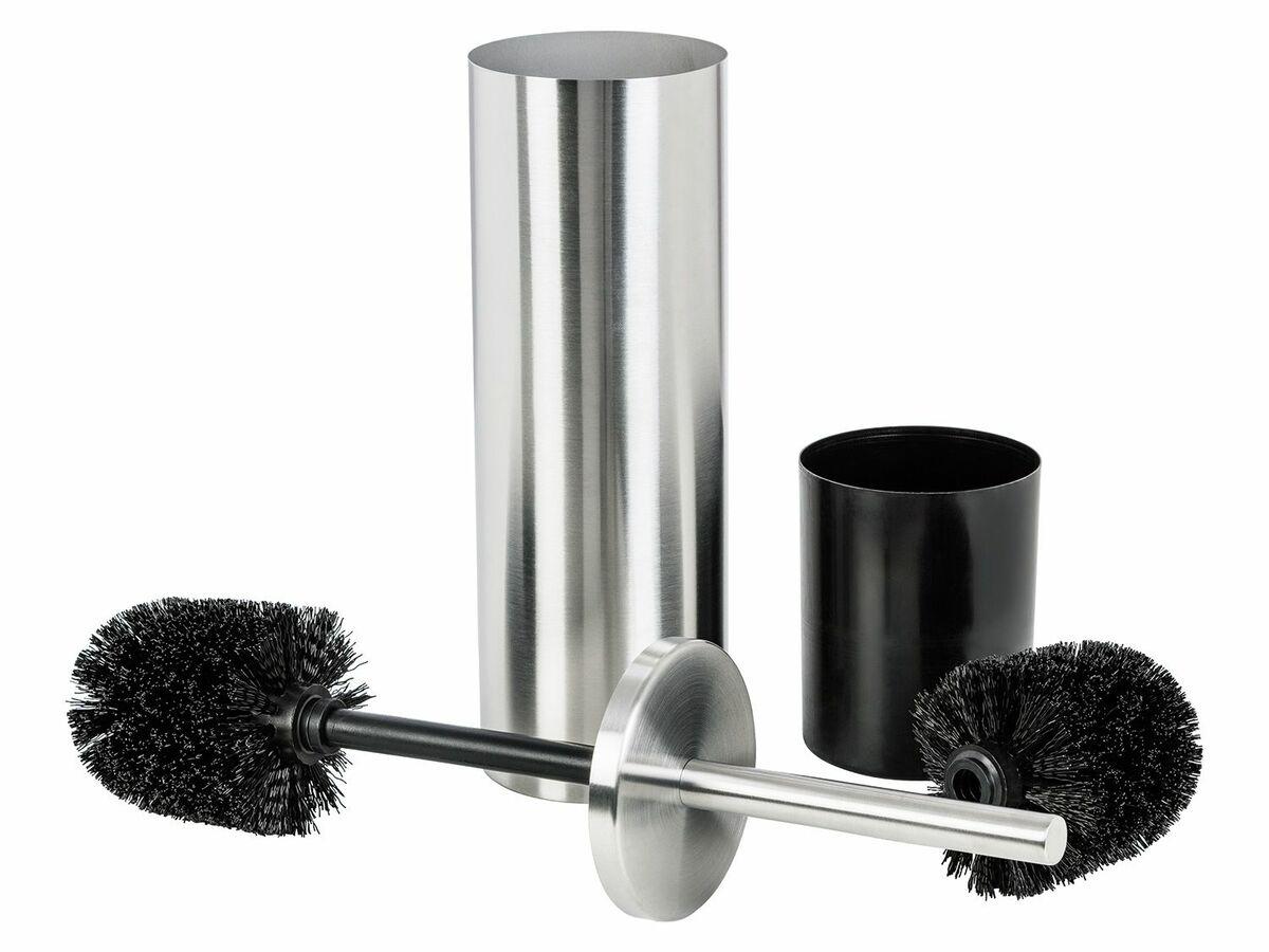 Bild 3 von MIOMARE® Edelstahl-WC-Bürstengarnitur