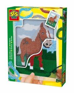 Stickset Pferd