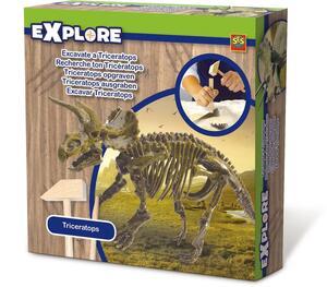 SES Explore Triceratops Ausgrabungs-Set