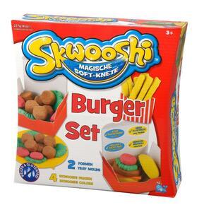 Skwooshi Soft-Knete Burger Set