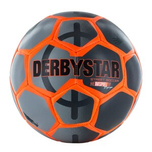 Xtrem - Derbystar Street Soccer Ball Gr. 5, orange