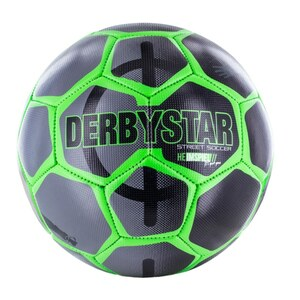 Xtrem - Derbystar Street Soccer Ball Gr. 5, grün