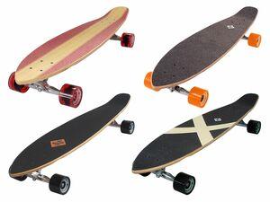 Streetsurfing Longboard Kicktail