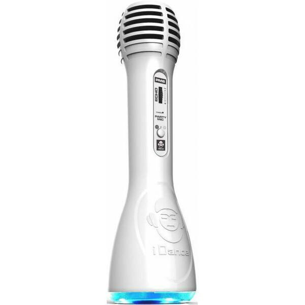 Bigben iDance Party Microphone PM-6 Weiß