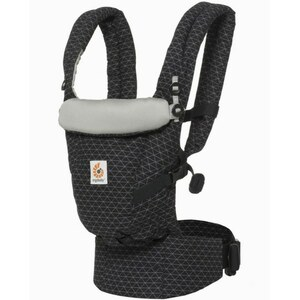 Ergo Baby - Babytrage Adapt, Geo Black
