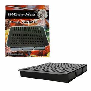 BBQ-Räucherbox mit Einsatz 35x4,5x29,7cm