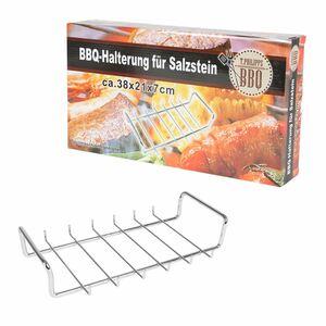BBQ-Salzstein-Halterung 37x7x20,8cm