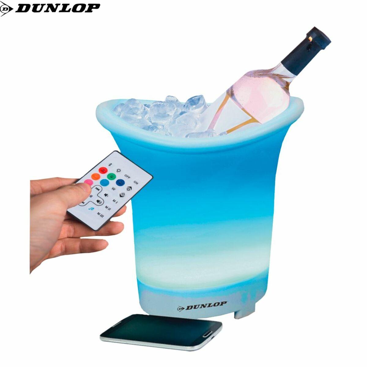 Bild 1 von Dunlop Bluetooth-Lautsprecher mit Flaschenkühler 27cm