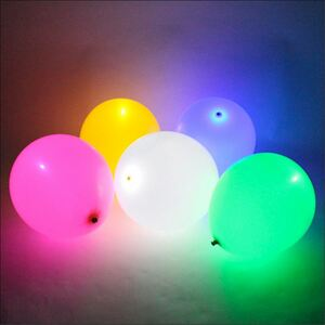 LED-Luftballons 5er-Set