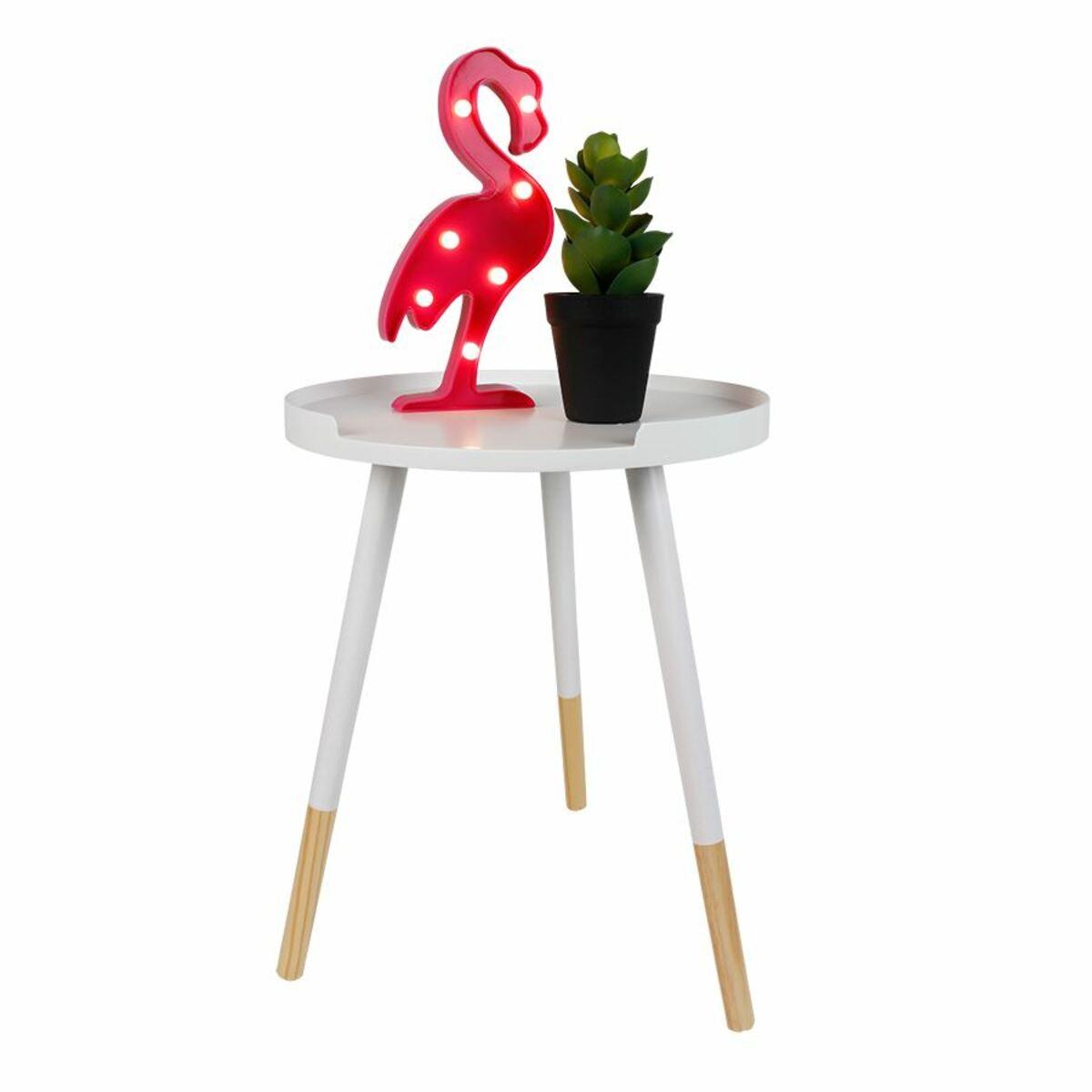Bild 5 von LED-Dekofigur Flamingo 13x29,5x3cm Warmweiß