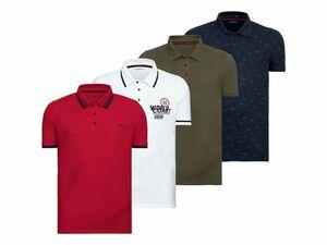 LIVERGY® Herren Pikee-Poloshirt