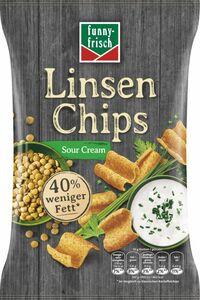Funny Frisch Linsenchips Souer Cream 90g