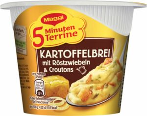 Maggi Kartoffelbrei / Röstzwiebeln 5 Minuten Terrine 59 g