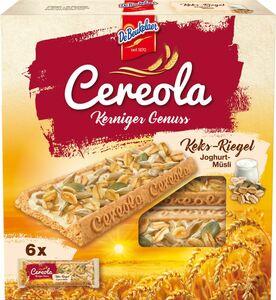 DeBeukelaer Cereola Keks-Riegel Joghurt 144g