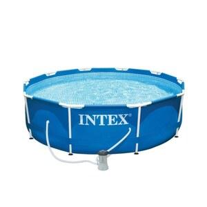 Intex - Frame Pool mit Pumpe, Ø 305 x 76cm