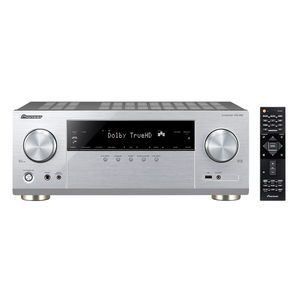 Pioneer VSX-832-S Silber - 5.2 AV-Receiver (130 Watt/ Kanal, Bluetooth, Wi-Fi, LAN, Dolby Atmos)