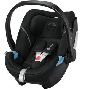 Cybex - Babyschale Aton 5, Lavastone Black