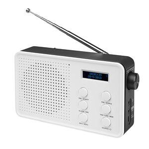 MEDION LIFE® E66420 DAB+/UKW Radio, LCD Display, Freisprechfunktion, kabellose Musikübertragung, 4 Weckprogramme