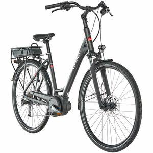Ortler E-Bike Bozen Wave, schwarz matt, 45 cm