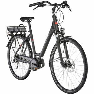 Ortler E-Bike Bergen Wave, schwarz matt, 55 cm
