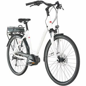 Ortler E-Bike Bozen Wave, weiß glanz, 55 cm