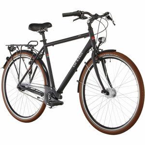 Ortler Herren Cityrad Monet, schwarz matt, 60 cm