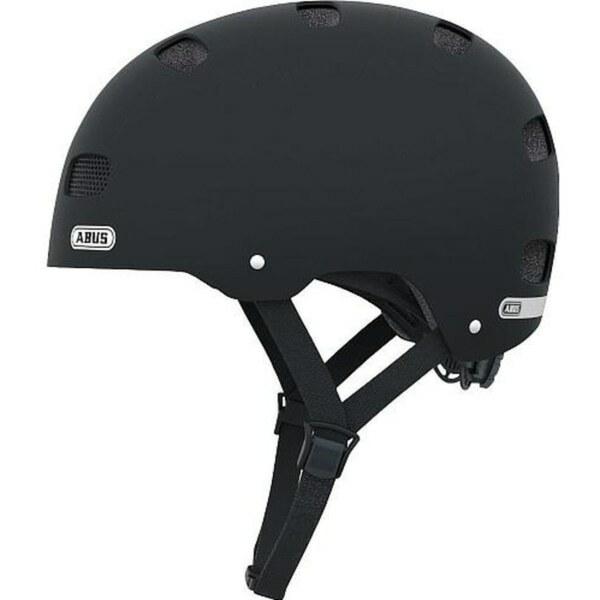 ABUS - Skatehelm Scraper Kid V2 Velvet Black, Größe S