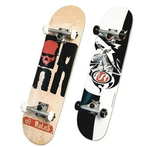 Authentic Sports - Skateboard No Rules ABEC 7, sortiert